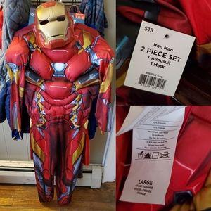 Boy's iron man costume
